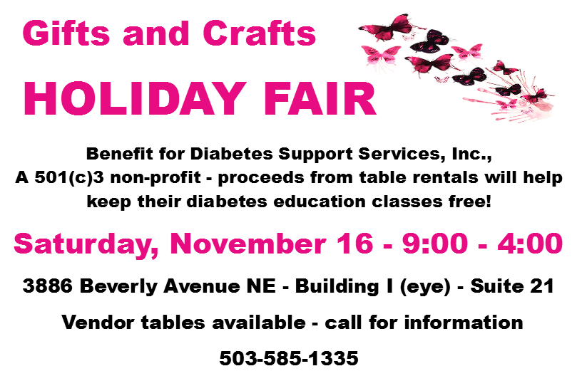 DSS Gift and Craft Holiday Fair